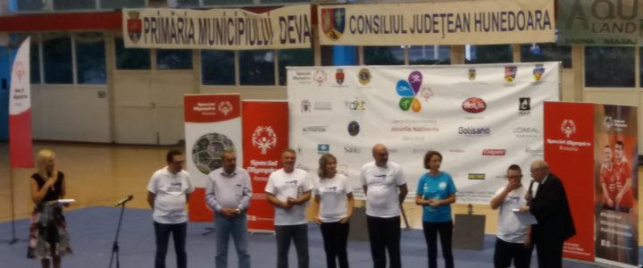 Jocurile Nationale Special Olympics Romania – 22-24 – Septembrie 2019